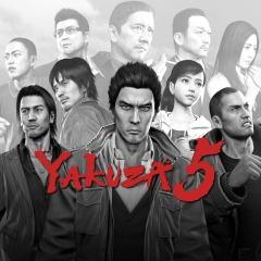 Yakuza 5 PS3 / PSN Digital - Massive rare discount £7.99