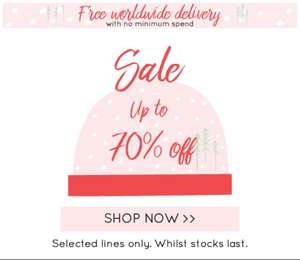Lisa Angel (Gifts & jewellery) up 70% off. Free worldwide delivery!