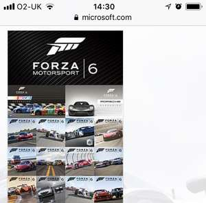Forza Motorsport 6 Complete DLC Only  - £22.35 @ Microsoft Store