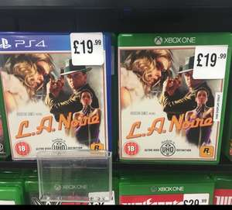 LA Noire PS4/Xbox One £19.99 @ HMV Braehead