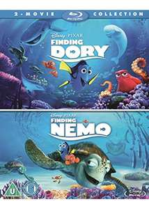 Finding Dory/ Finding Nemo Double Pack Bluray £12.99 @ Base.com