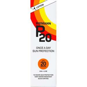 Riemann P20 Once a Day Lotion SPF20 100ml - £6 free C+C @ Lloyds Pharmacy
