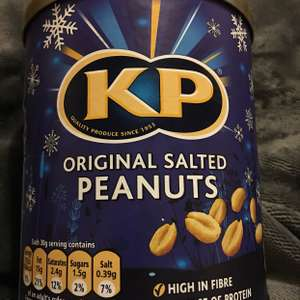 KP salted nuts jack Fulton's £1.50 400g tin (instore)