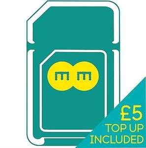 EE PAYG sim with £5 credit @Ebay (seller: ee-uk-shop) - £0.99 delivered