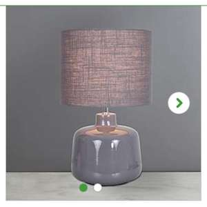 Oslo large grey lamp - £3 @ Dunelm (reserve and collect)