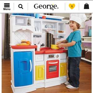 Little tyke gourmet kitchen £31 (+£5.95 del) @ Asda Direct