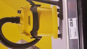 Karcher Wd2 wet and dry vacuum £20.00 instore at Homebase
