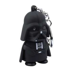 Star Wars - Darth Vader KeyRing with LED light 75p @gearbest w/code