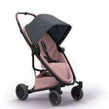 Quinny Zapp Flex Plus Pushchair - Graphite on Blush £195 - Mothercare