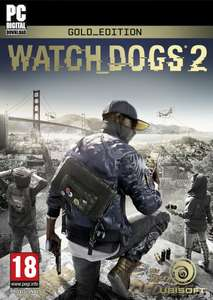 Watch Dogs 2 PC (Gold Edition) uPlay Code £23.33 [Amazon UK]