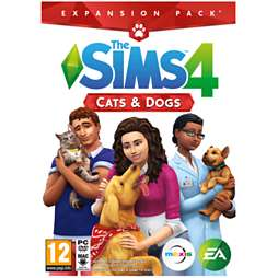 The Sims 4 Cats & Dogs PC DVD-Rom @Game.co.uk £21.99