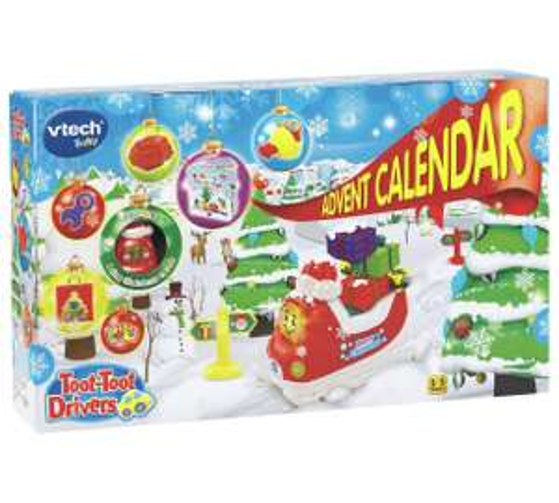 Vtech Toot Toot Advent Calendar £7 Tesco INSTORE