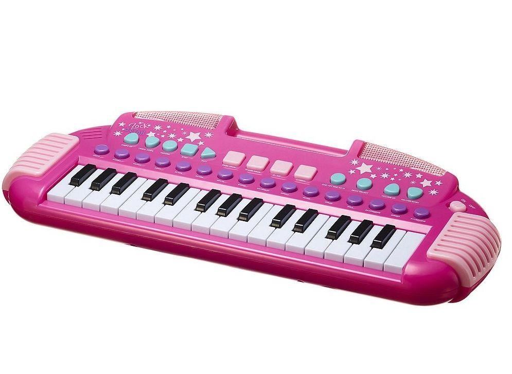 Carousel Pink Rock Star Keyboard. Was £12. Now £7. Tesco direct.