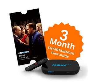 "Now tv ""smart box"" 3 month entertainment pass £20.95 Del @ QVC (£5 for First Orders w/code)"