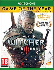 Witcher 3 GOTY Xbox One £17.99 Delivered @ Game
