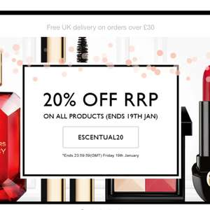 20% OFF RRP ON ALL PRODUCTS @ ESCENTUAL