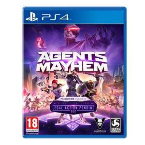 Agents of Mayhem PS4/Xbox £7.99 C+C @ smyths