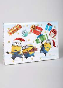 Despicable Me Stationary Eraser Advent Calendar £5 C+C @ Matalan