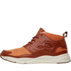 Reebok Mens Furylite Chukka Leather Trainers Ginger/Paper White £17.99 + Delivery £4.49 @ MandM Direct