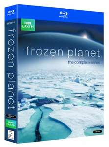 Frozen Planet the complete series blu ray £7.65 Prime / £9.64 Non Prime @ Amazon
