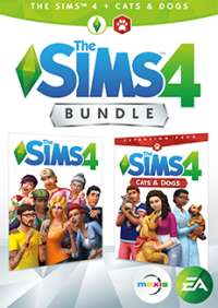 The Sims 4 Base Game + Digital Deluxe Content + Cats and Dogs Expansion For PC/MacOrigin £32.99 @ CDkeys (£31.34 Using Facebook Code 5% Off)