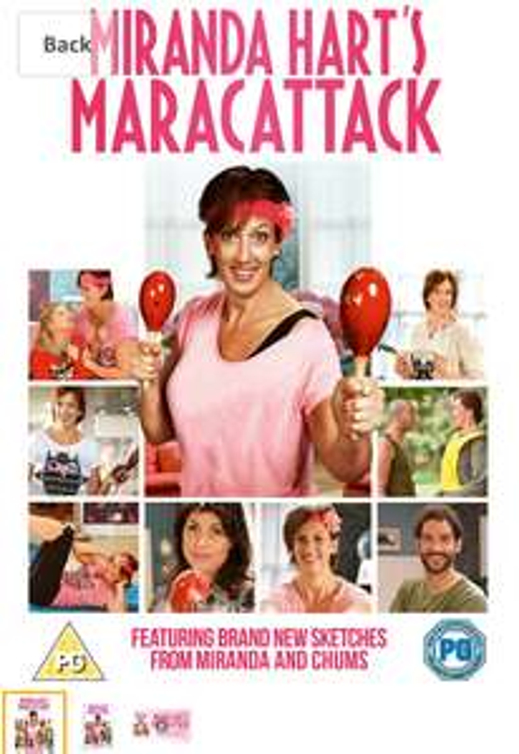 Miranda Hart's Maracattack DVD Only £2.73 Prime / £4.72 Non Prime @ Amazon
