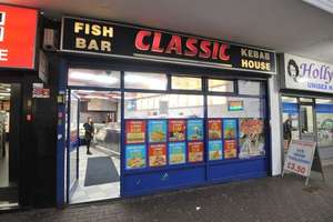 Free meal Christmas day Birmingham classic fish bar
