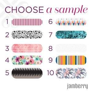 Free Nail Wrap Sample at Jamberry