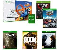 Xbox one s 1tb 7 games and 3 months live £239.01 @ Currys
