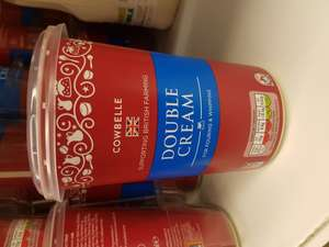 99p!! 600ml Double Cream Aldi Ancoats Manchester