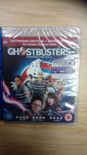Ghostbuster's 3d blu ray £1 @ Poundland