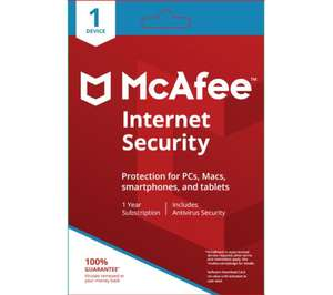 McAfee security £8.99 @ Currys