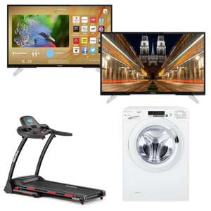 "Now Live - Hitachi 43"" 4K Smart TV £249.99 / 50"" model £299.99 / Candy 8KG 1400 Spin Washing Machine £189 @ Argos (More in OP)"