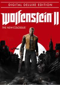 Wolfenstein II 2 The New Colossus Deluxe Edition (Includes Season Pass) PCSteam £25.99 @ CDkeys (£24.69 with Facebook Code)