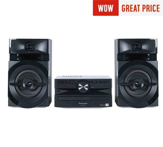 Panasonic SCUX100EK 300W Hi-Fi with Bluetooth £69.99 @ Argos