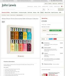 Molton Brown Divine Discoveries Bath & Shower Collection 10 pack