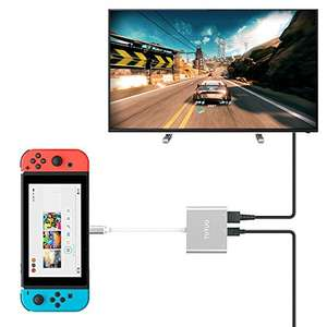 USB-C to HDMI, Nintendo Switch Compatible | Sold by Tutuo and supplied by Amazon