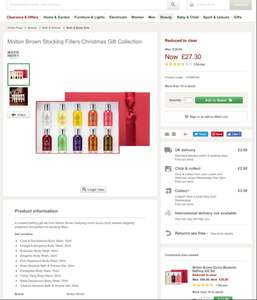 Molton Brown Stocking Fillers Christmas Gift Collection 10 pack