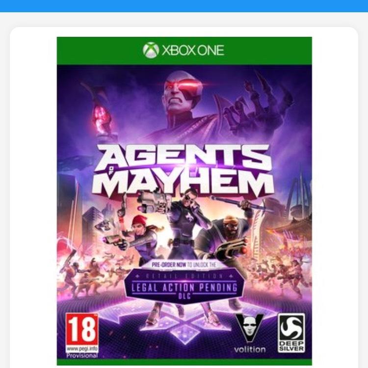 Agents of Mayhem (XB1/PS4) £7.99 @ Smyths toys