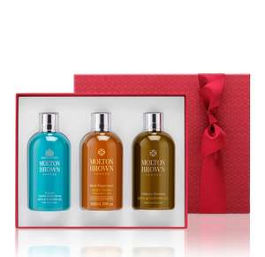 Molton Brown Adventurous Experiences Bath & Shower Gel Gift Set at John Lewis for £35 - Free c&c
