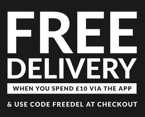 Firetrap Free Delivery when spending over £10 via mobile app
