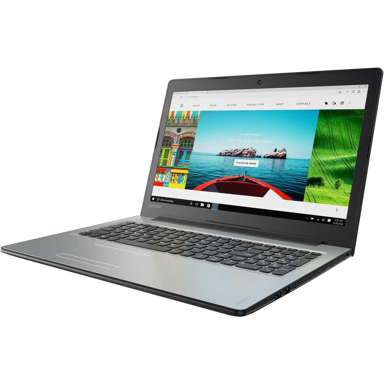 """Lenovo IdeaPad 310 15.6"""" Laptop - Silver - £299 @ AO"""