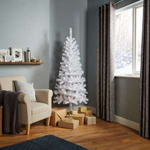 B&Q 6ft Orelle White Classic Christmas Tree reduced to £4 instore