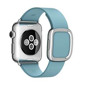 Apple Watch 38mm Modern Buckle - Large - Blue Jay @ 49.95 - Sold by Red Mobile / Fulfilled by Amazon