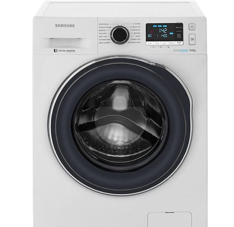 Samsung Ecobubble 9kg Washing Machine WW90J6410CW - £389 (with code) @ AO