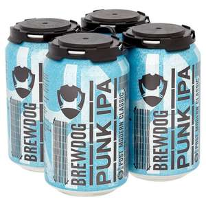 Brewdog Punk IPA cans - 8x330ml for £9.  Online and instore @ Tescos