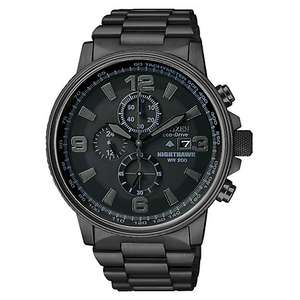 Citizen Men's Nighthawk Chronograph  Watch, £174.50 from J.Lewis