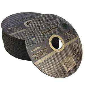20 x Ultrathin metal cutting discs - Sold and Despatched by AAAz Ltd via Amazon - £5.60 Delivered