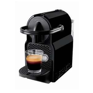 Nespresso Inissia Black by Magimix £49 @ Debenhams (with £45 coffee credit)