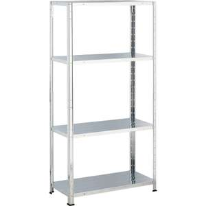 Galvanised Steel 4 Shelf Storage Unit@homebase - £9.92 (C&C)